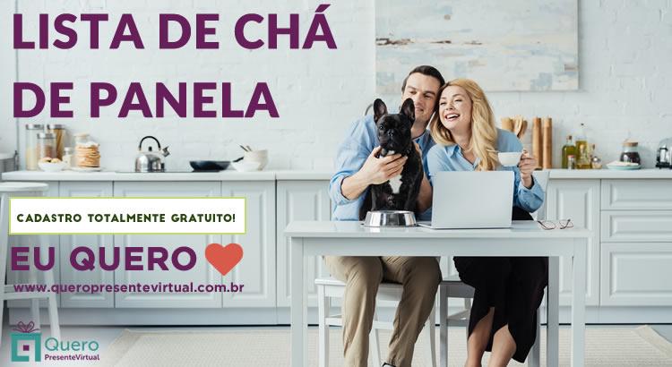 Lista Chá de Panela Presente Virtual